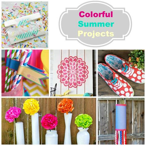 diy summer craft projects summer diy crafts