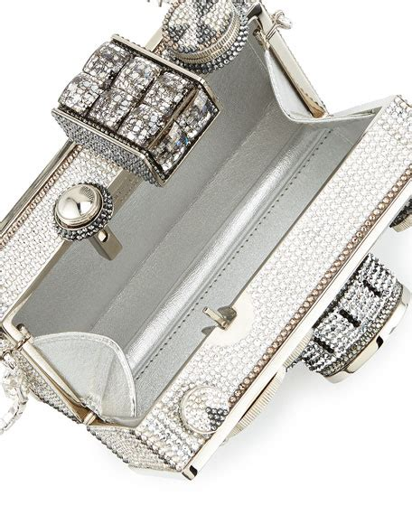 A Neiman Exclusive Prada Spazzalato Clutch by Neiman Exclusive Judith Leiber Couture