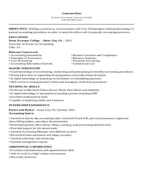 33 accountant resume sles