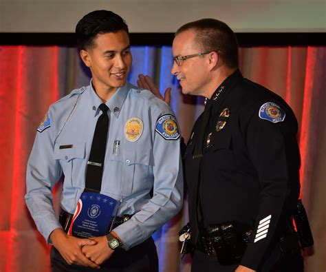 Garden Grove Ca Chief The Badge Explorers And Their Advisors Honored At