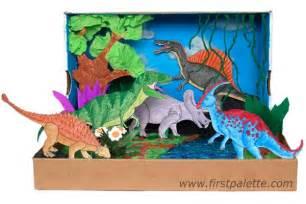 Story Skeleton Book Report Template dinosaur diorama kids crafts firstpalette com