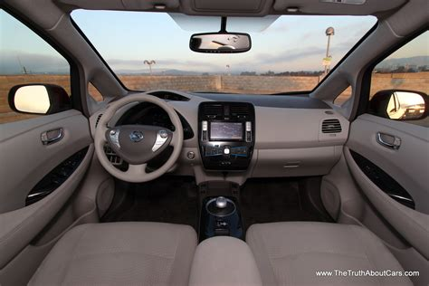 nissan leaf interior 2012 nissan leaf interior trunk cargo area photography