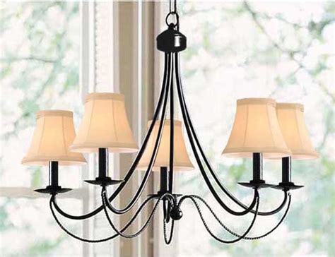 Modern Black Chandeliers Iron 5 Light Black Chandelier Modern Chandeliers By Overstock