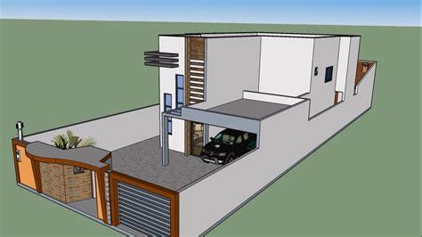 casa 3d planta de casa 3d maquete eletr 244 nica sketchup