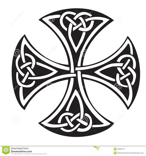 celtic cross stock images image 10846114