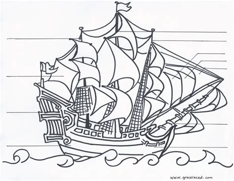 Pirate Ship Coloring Page Az Coloring Pages Printable Pirate Coloring Pages Coloring Me