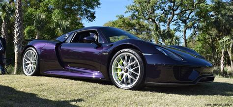 dark purple porsche kiawah 2016 highlights 2015 porsche 918 spyder viola