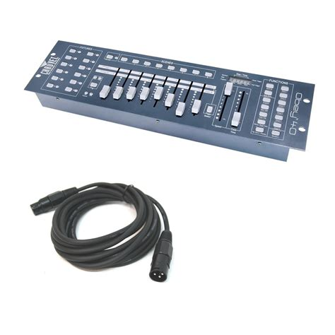 Dj Light Controller by Chauvet Dj Obey 40 1920ch Universal Dmx 512 12 Light Controller Xlr Cable Ebay