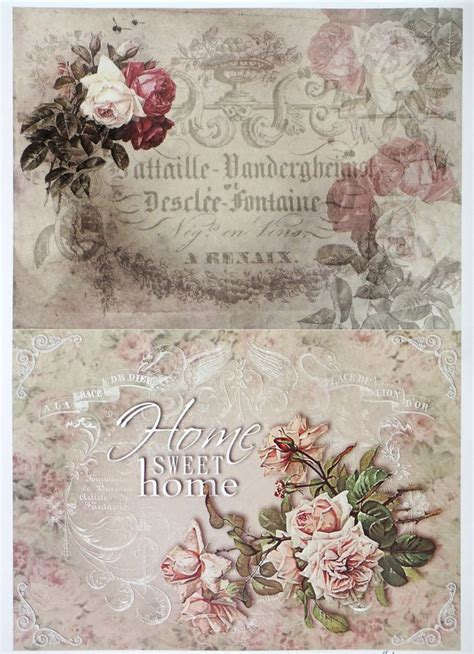 Vintage Decoupage - best 20 decoupage paper ideas on decoupage
