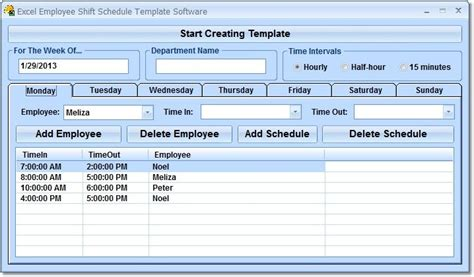 employee leave schedule template excel annual leave schedule software