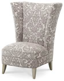 Armchair With High Back Overture High Back Chair Transitional High Chairs And