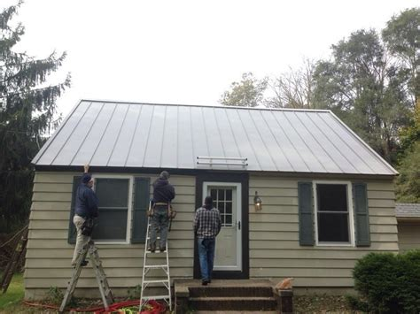 metal roofing by precision roofing services metal