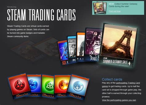 Steam Trading Card Giveaway - steam deals out 32 new trading card sets