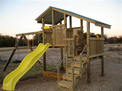 homemade playset   fun   kids