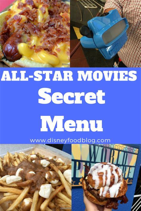 NEW!!: Shhh… All Star Movies Resort SECRET MENU in Walt