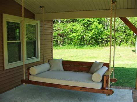 bed swing plans outdoor swing bed plans