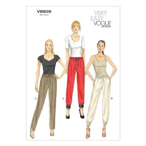 jeans pattern vogue vogue misses pants pattern v8909 size 0y0 discount