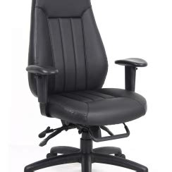 wb office furniture zeus highback executive 24 7 leather faced task chair gwb