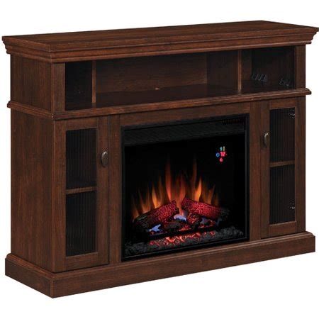 electric fireplaces at walmart chimneyfree media electric fireplace midnight cherry