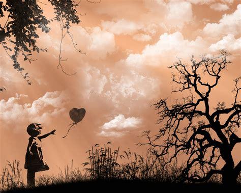m 228 dchen und herz ballon hintergrundbilder m 228 dchen und