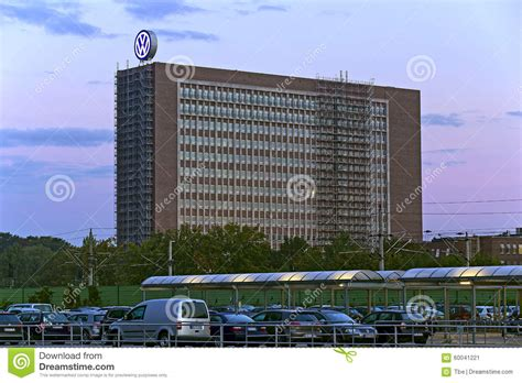 volkswagen headquarter editorial photo image