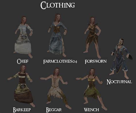 skyrim armor and clothing skyrim modesty mod at skyrim nexus mods and community