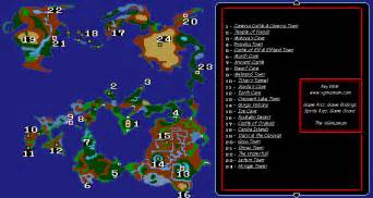 Ff1 World Map by Final Fantasy 1 Map Iphone Www Imgarcade Com Online