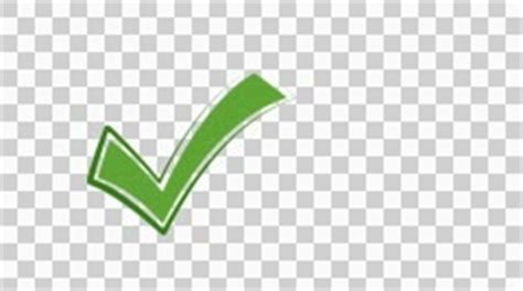 Green Check Icon Transparent Background Checkmark 1 Gloss Phone Button Animation With Transparent Background 42937805