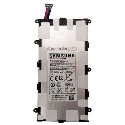 Battery Sp4960c3b P3100 Original Tab2 70 the samsung sp4960c3b battery for the galaxy tab 2 7 0