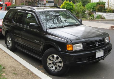 how to learn about cars 1999 honda passport parking system file 1998 1999 honda passport 03 30 2012 jpg wikipedia