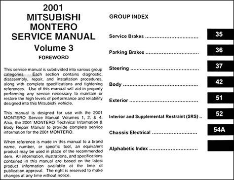 service manuals schematics 1989 mitsubishi eclipse parental controls service manual 1998 mitsubishi montero factory service manual montero repair manual ebay