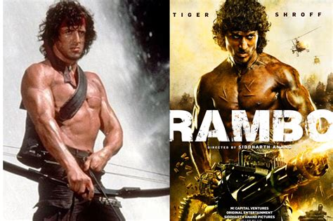 rambo film in urdu tiger shroff wants to give tribute to sylvester stallone