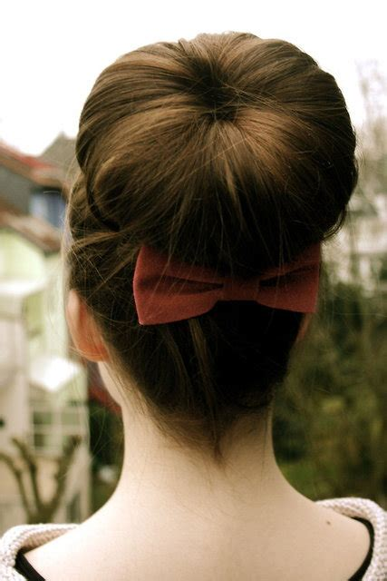 donut bun hairstyle with bangs easy cute and messy bun hairstyles for long hair