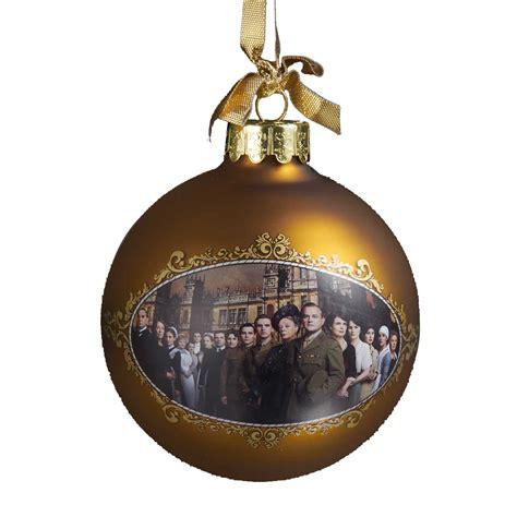 downton abbey 174 season 2 glass ball ornament