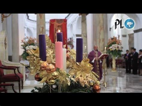 iglesia catolica comienza preparativos  navidad youtube