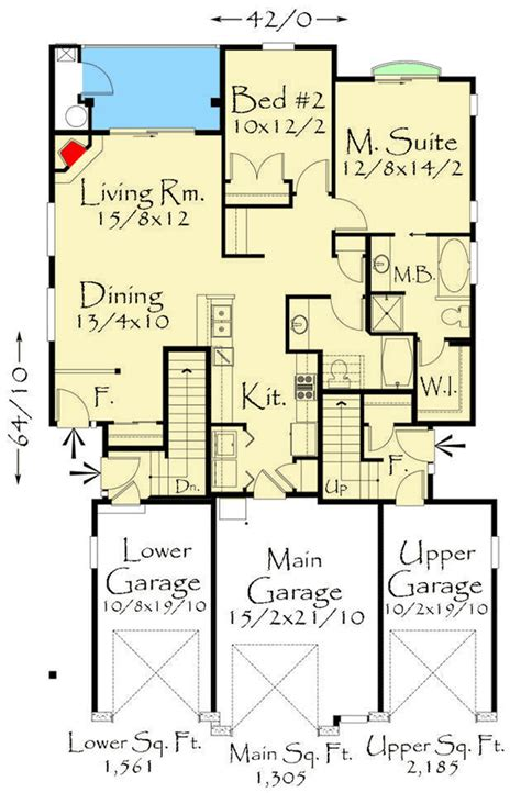 Triplex Floor Plans triplex floor plans best free home design idea