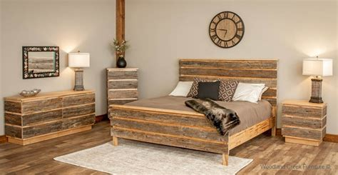 modern wood bedroom furniture modern barn wood bed contemporary rustic bed mountain