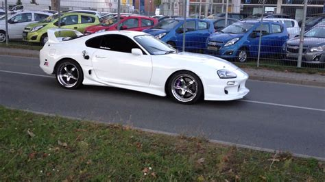 Toyota Supra White Turbologic Berlin Toyota Supra Mkiv White Shark