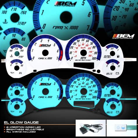 glow gauges  sale page   find  sell auto parts