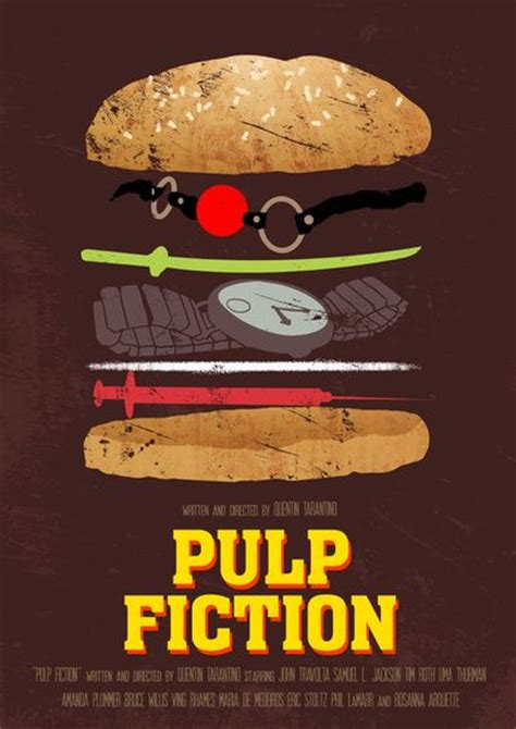 160 Best Pulp Fiction Fan Art Images On Pinterest Cinema