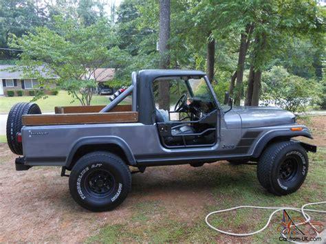 1982 Jeep Scrambler 1982 Jeep Scrambler Cj 8