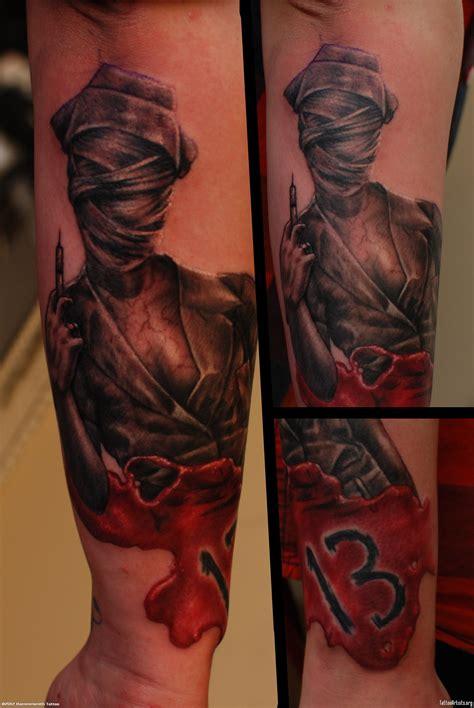 silent hill tattoo img250871 nurse silent hill tattoo jpg 2592 215 3872