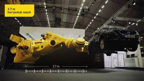 Nejsilnější průmyslový robot na světě FANUC M-2000iA/2300 ... M 2300 T