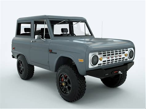 icon 4x4 truck new icon bronco on cardomain autoholics