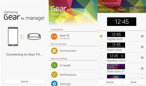 samsung galaxy gear manager 1 2 apk new gear manager and gear fit manager apps rolling out ahead of gear 2 and gear fit launch