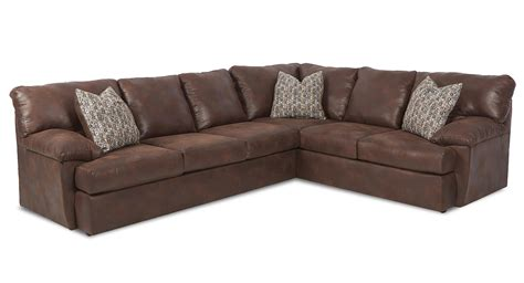 klaussner sectional sofa klaussner walton casual sectional sofa dunk bright