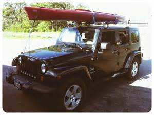 Canoe On Jeep Wrangler Jeep Wrangler Kayak Rack Jeepworld Jeep