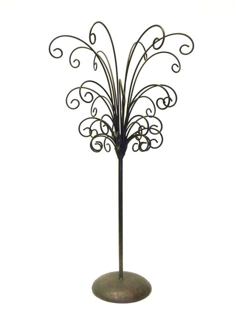 metal ornament tree mahogany 32 branch metal tree ornament jewelry display