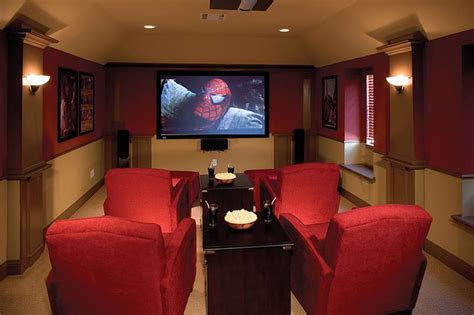 amazing finished basement theaters   time