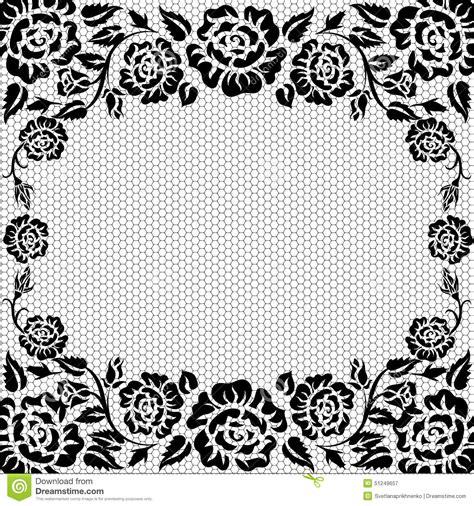 black lace background lace vintage background stock vector illustration of